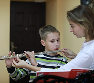 Блокфлейта и оркестровая флейта