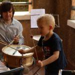 Открыт набор в класс ударных инструментов