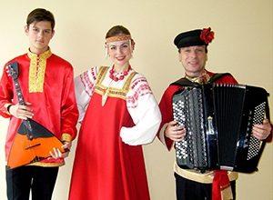 Встречаем осень. Русские народные инструменты